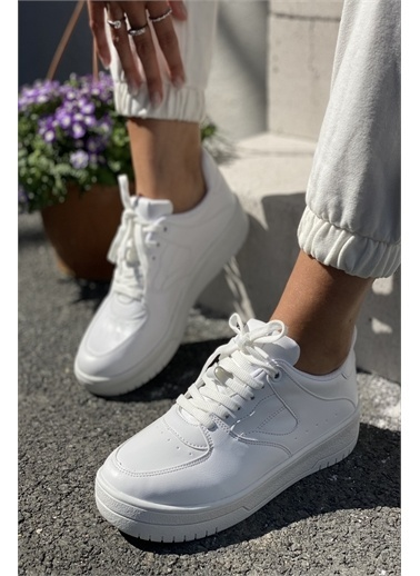 İnan Ayakkabı KADIN SPOR AYAKKABI Beyaz